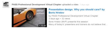 PASS Boris presentation